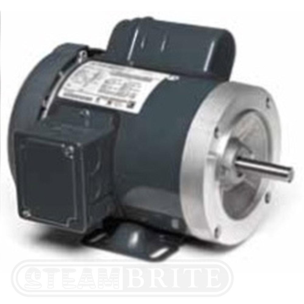 Marathon electric k618 3 hp motor 1800 rpm 1 ph 56c for 1800 rpm electric motor