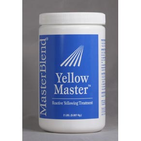 MasterBlend 130404 Yellow Master Case 6 Two lbs jars