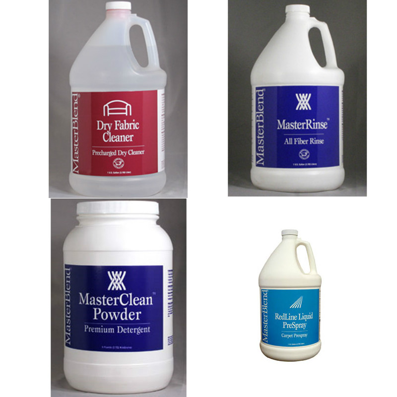 MasterBlend Chemical Start Up Pack - Starter Carpet Cleaner Kit