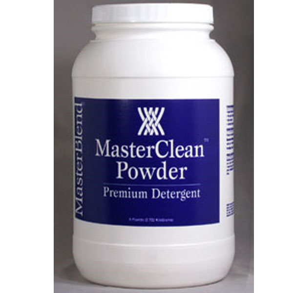 MasterBlend 100106 Master Clean Powder (Case of 4 Six Pound Jars) UPC 672835100158