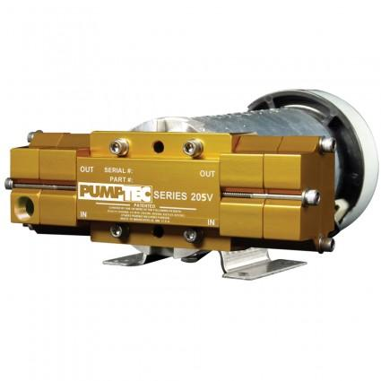 Pumptec 81323 Series 207V-085/M9253F, 120v BUNA M-VALVE 5 - 3/8in PORTS Gold 500 psi