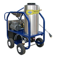 Mercury Floor Machine: Electric 6 HP Hot Water High Pressure Washer