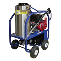Mercury Floor Machine: Gas 11 HP Hot Water High Pressure Washer
