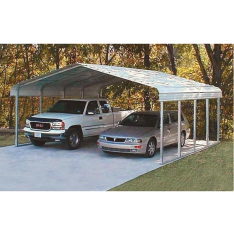 VersaTube Steel Shelter Carport 20 ft X 29 ft X 10 ft High
