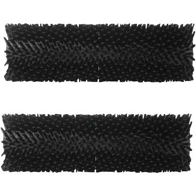 HydroForce MH53E: Extra-Aggressive Black Brush (Pair) for the Brush Pro 17 MH170 Cement and Tile Cleaning - 1630-2414