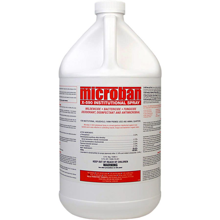 Chemspec Microban Mediclean X-590 Institutional Spray Plus 5 Gal Pail (Formally ProRestore X580) 22155300 FREE Shipping
