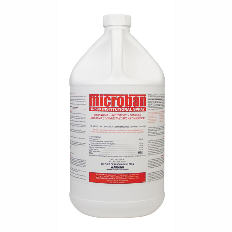Chemspec Microban Mediclean X590 UnSmoke Prorestore 1 Gallon (Bedbug Treatment) X-590-Gal