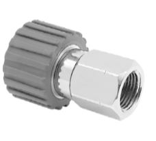Mosmatic 70.052 Swivel Coupling, grey, stainless DKS M21x1,5-F 1/4 in. NPT F