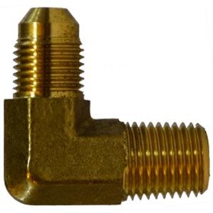 TurboForce T2 (Also T-2) 1/4 Mip X 7/16-20 MJic Brass 90 Fitting [28762F]