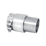 Mosmatic 60.308 swivel coupling with 1x pipe clamp stainless steel 1.5inch