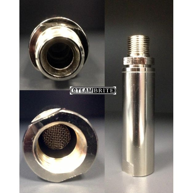 Mosmatic 3/8in Mip X 3/8in Fip Stainless Filter 90.063