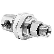 "Mosmatic 33.351 DGG Bulkhead 90 Degree Swivel 1/4""Fip X 1/4""Mip"