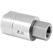 "Mosmatic 34.862 DGE-10 Hi-Flo Single Bearing In Line Swivel 3/8""Fip X 3/8""Fip Rotary Union"