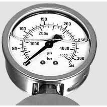 Mosmatic 902.454 5000 psi Pressure Gauge