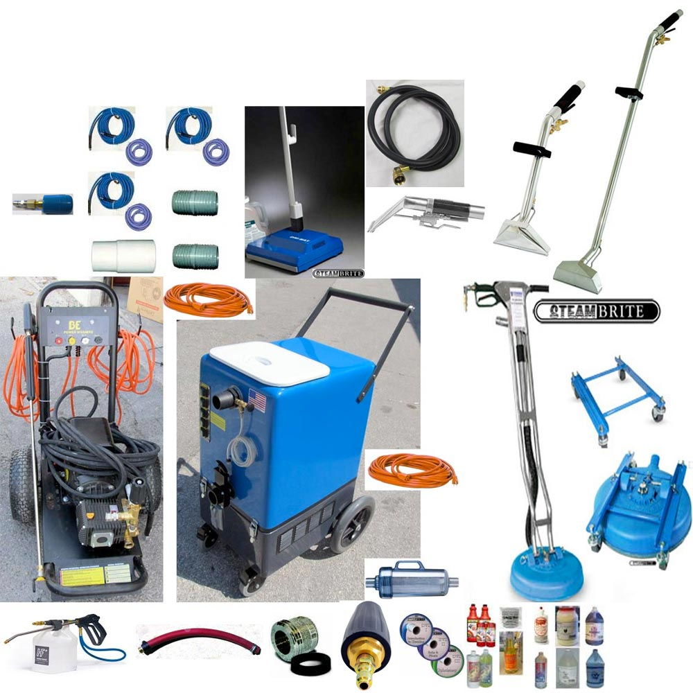 -Clean Storm Goliath 26gal 8 Stage Vacs 2100psi Pressure Washing Recovery 120v Starter Multi-Surface Package FREE Shipping 87439877