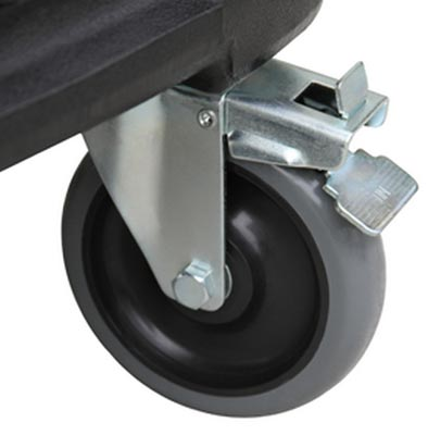 Mytee H666 Locking Front 5 inch Swivel Caster