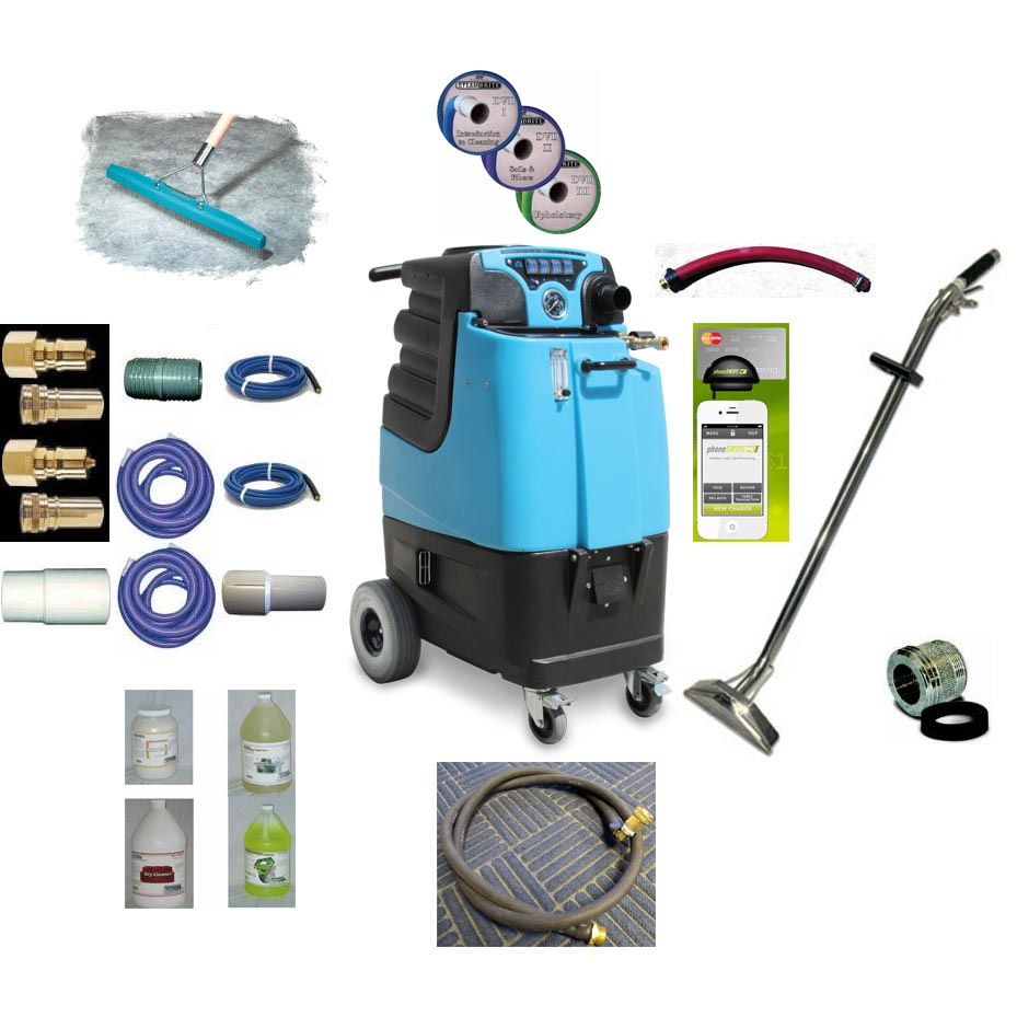 Mytee LTD12 Speedster Tile and Carpet Cleaning Machine 12gal 1200psi Dual 3 Stage Vacs Auto Fill Auto Dump Basic Package [LTD12 B]