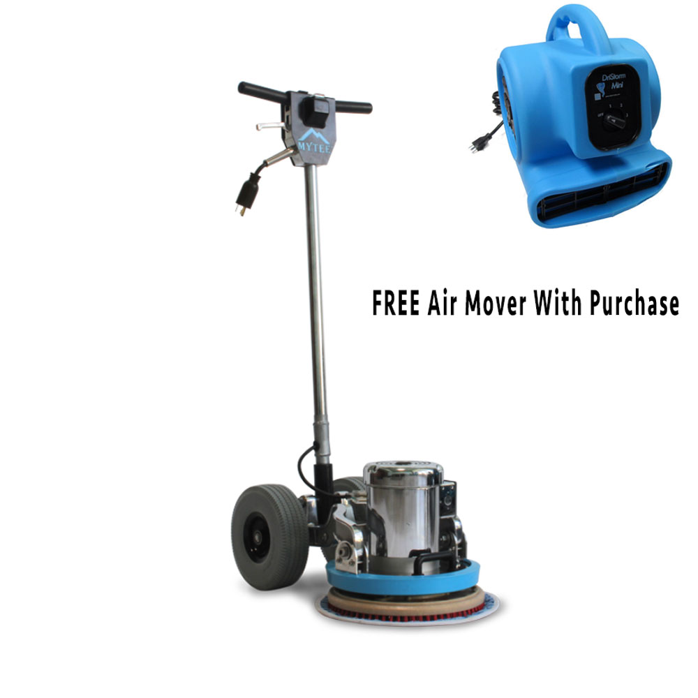 Mytee ECO-13-LT Lite Orbital All Surface .5Hp Floor Machine FREE Air Mover Free Shipping
