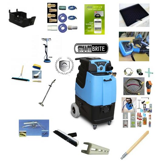 Mytee LTD12 1000psi Bundle Starter Package Tile Carpet Upholstery Multi-Purpose Extractor Freight Included