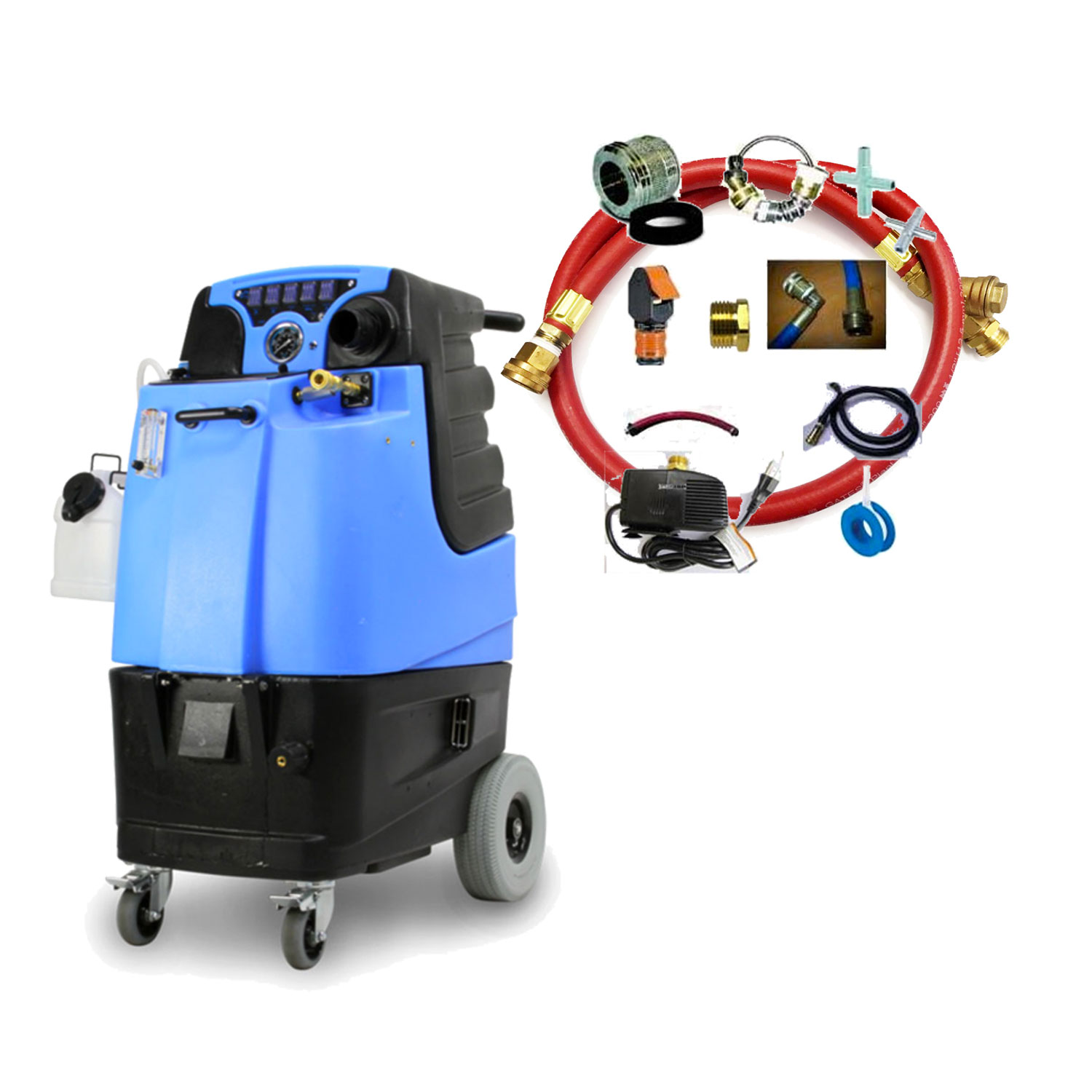 Mytee LTD3LX 500Psi HEATED Dual 6.6 Vac AFAD Kit Carpet Cleaning Machine LTD3-LX Speedster Extractor Freight Inc Bundle 54167451