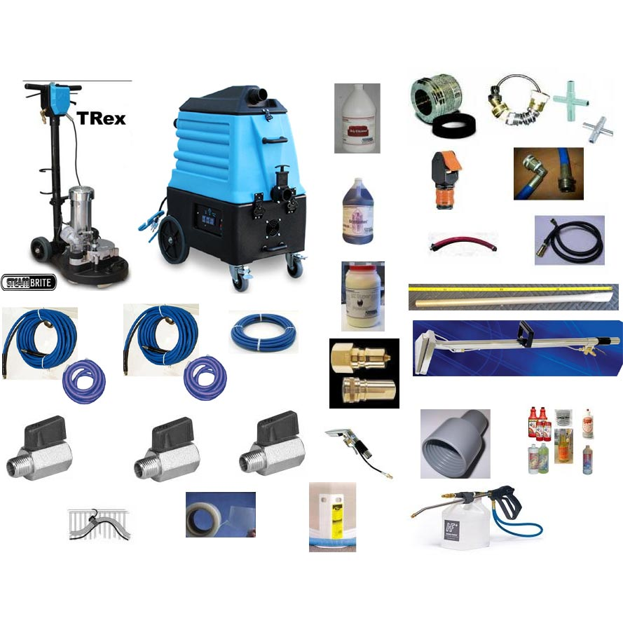Mytee 7000LX Flood Hog Plus Trex 15 Water Extraction Portable Flood Pumper Starter Kit and Freight Included Synergistic [7000LX-TRex]