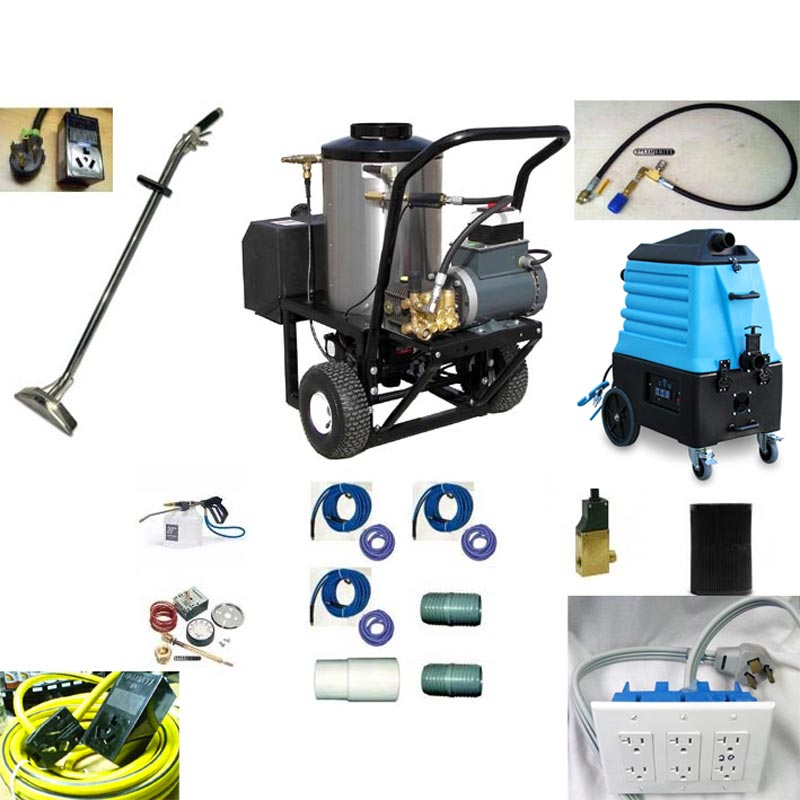 Pressure Pro 2115-15G1 Mytee 7000LX 2gpm 1500psi Electric Hot Pressure Washer With Vacuum Recovery Auto Dump Portable Cart and Tank 20140110