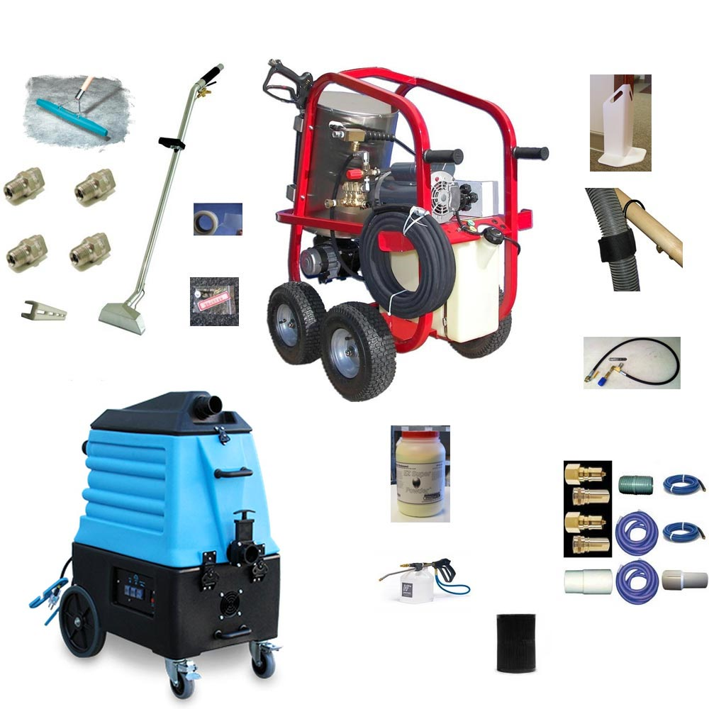 Hydrotek HV13002E1H Pressure Washer Steamer Plus Mytee 7000SX Carpet Cleaning Starter Package 115 volt 1300psi FREE Shipping