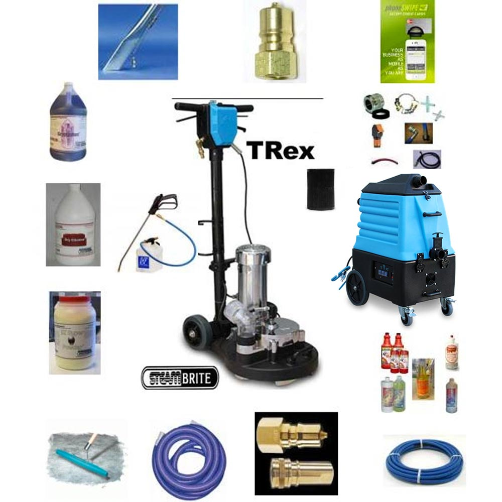 Mytee Trex 15 Power Wand Plus Hog 7000LX High Flow Extraction Package 20131122