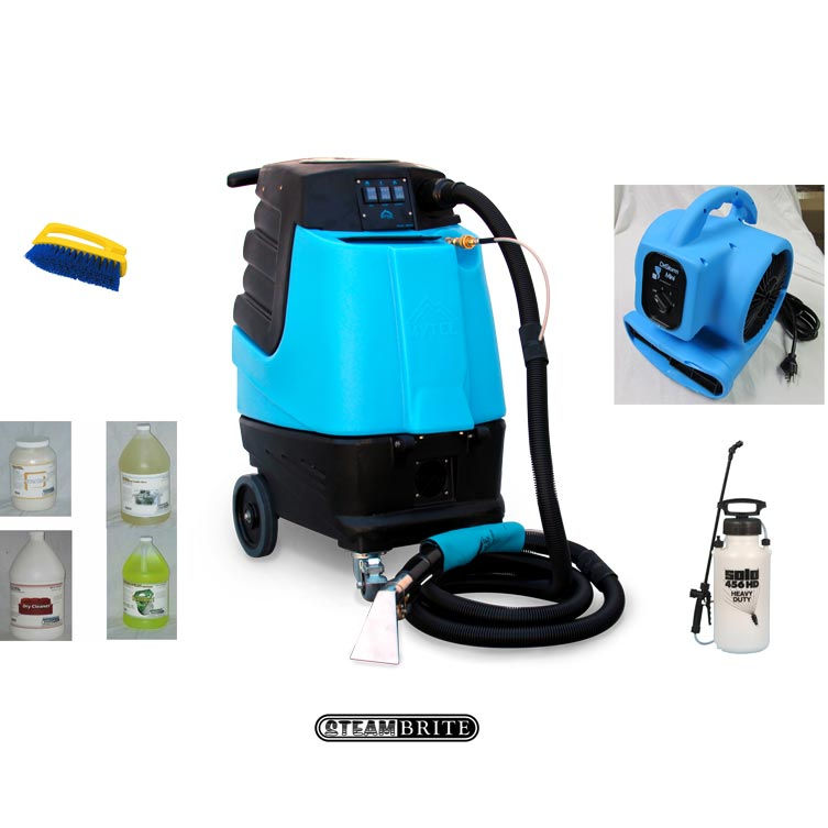 Mytee HP120 Starter Package Grand Prix Auto Detail Carpet Extractor 120 psi 3stg vac Heater hose wand (Formerly HP100)