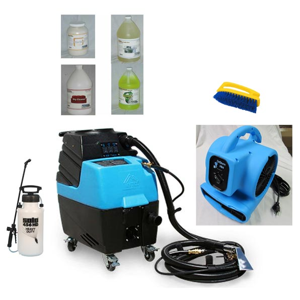 Mytee HP60 Starter Package Spyder 6gal 120psi HEATED 3 Stage Vacuum 15 ft hose set Open spray tool Auto Detail Machine