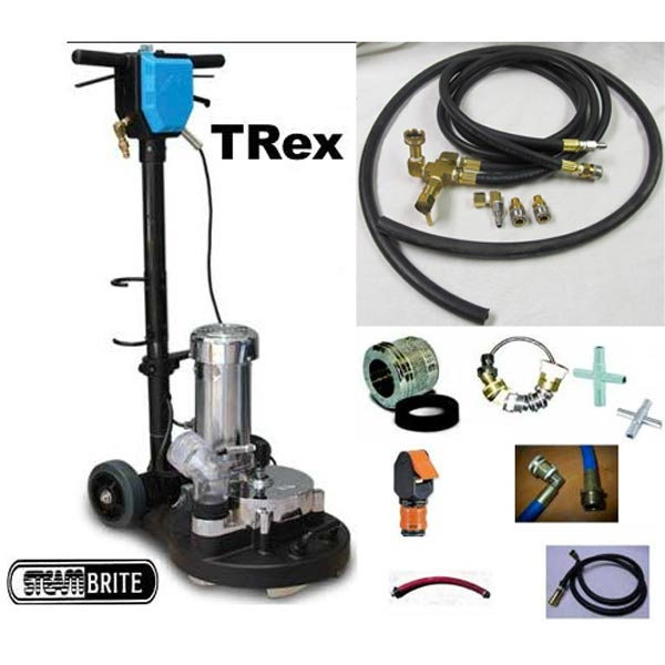 "Mytee Trex 15"" Rotary Extractor Power Wand STARTER PACKAGE FREE Shipping"