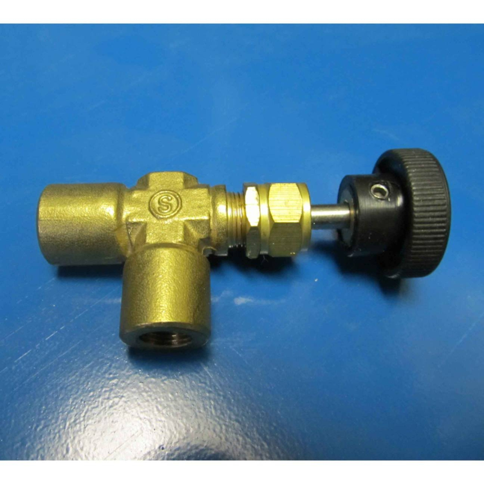 Mytee B112 1/8in Fip Screwed Bonnet Brass Needle Valve 122440 Heat Bypass or Chemical injection