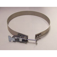 "Nikro: 860822 Clamp For 10"" Duct Cleaning Hose For Airduct Cleaning"
