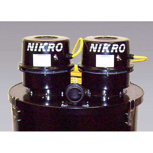 Nikro: 862148-220 - 55 GALLON DRUM ADAPTER KIT (Dual Motor) 220V 50/60 HZ