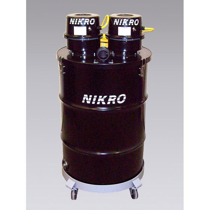 Nikro DP55230 55 GALLON DUAL MOTOR WET/DRY Vacuum (New Part #DP55DUAL)