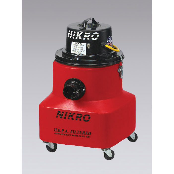 Nikro: PD10088-220 - 10 Gallon HEPA Vacuum (Dry) With Tools 220V 50/60Hz for international use