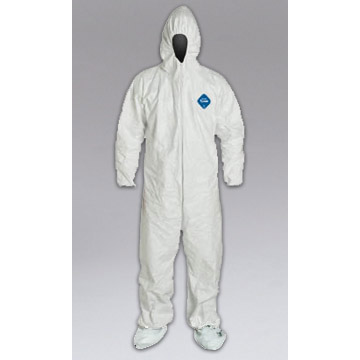 Nikro: 860991 - TYVEK COVERALLS With HOOD & BOOT (XXL) 25 Per Case