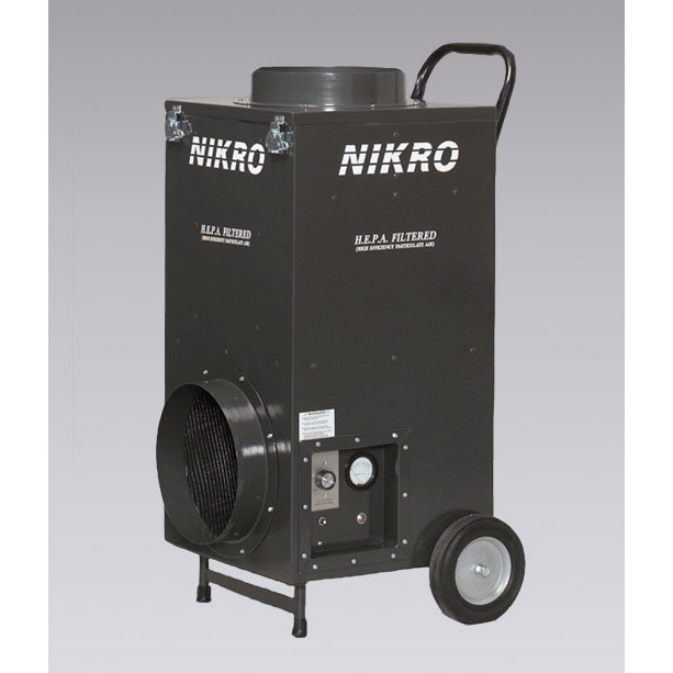 Nikro UR80022050 HEPA Air Scrubber 4 Stage 800CFM Portable 220V International