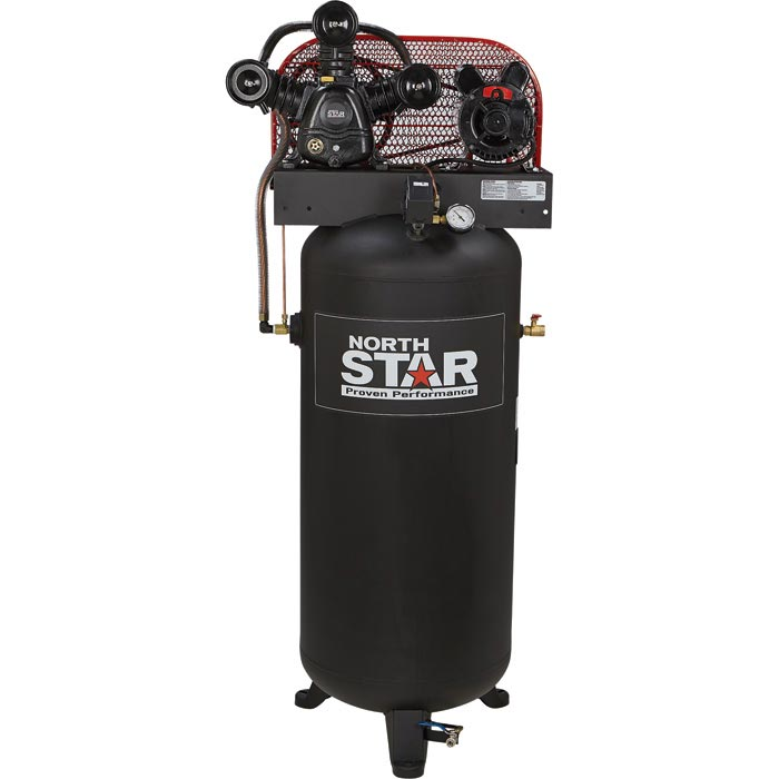 NorthStar 47501 Electric Air Compressor 5 HP, 60-Gallon Vertical Tank FREE Shipping