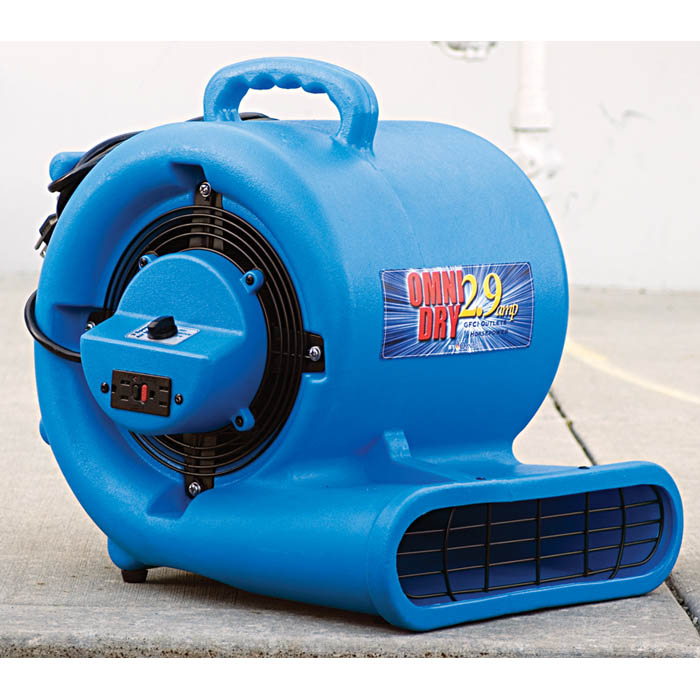 Omni dry ac25a gfci air mover carpet 2 9 amp flood restoration hydroforce omni pro gfci air mover fan for restoration contractors cheapraybanclubmaster Choice Image