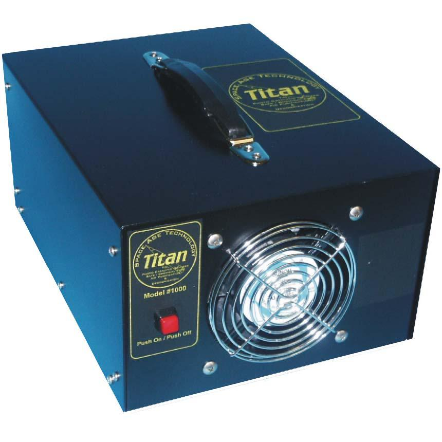 International Ozone Titan 1000 Hydroxyl Generator Catalytic Oxidizer Air Purification System E499 FREE Shipping [Titan1000]