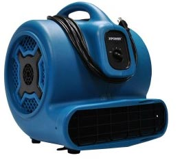 XPower P800 Carpet Restoration Air Mover P-800