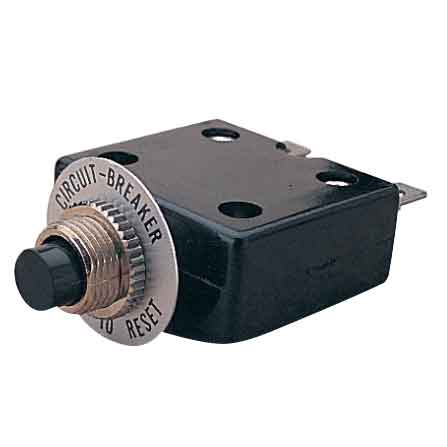 Shazaam: Panel Mount 25 amp push button resettable breakers
