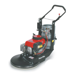 PowrFlite PB2817CE Kawasaki Propane Burnisher 1850 RPM 28in 12v 17Hp with Clutch and Emission Control