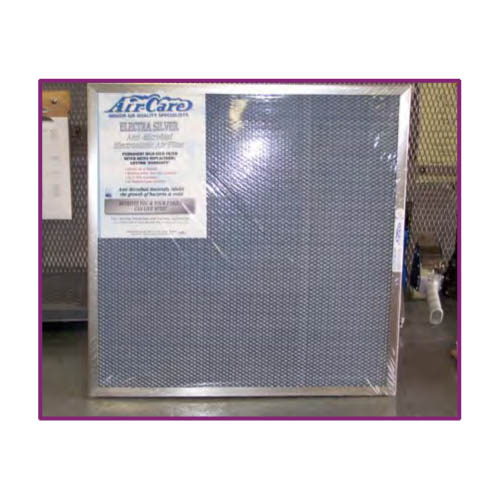 Air Care: Replacement Filter Second Stage 23-1/2in x 23-1/2in x 1in