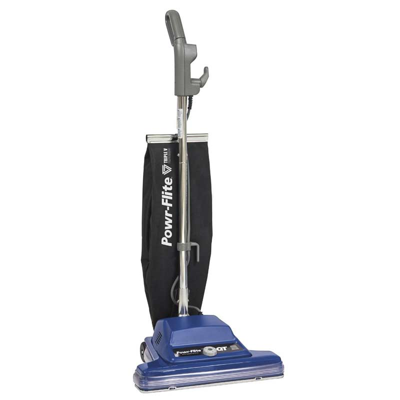 Powr-Flite PF716VC : 16 Inch Upright Vacuum with Shake-Out Bag and Wide Track Replaces PF757CEC