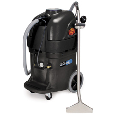 PowrFlite PFX1385MAX 13gal 500psi Dual HEATED Dual 3 Stage Vac Commercial Upright Extractor BLACK MAX (BlackMax)