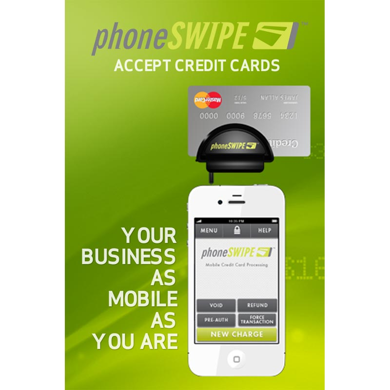 Phone Swipe Pay as you go Credit Card Processing for Carpet Cleaner Start ups Freight Included