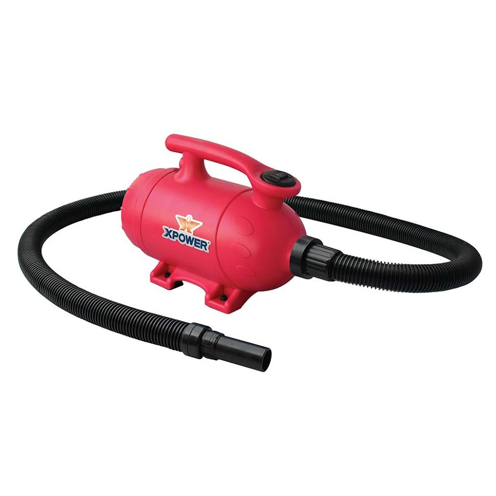 XPower B24 Forced Blower and Vacuum for Pet Grooming
