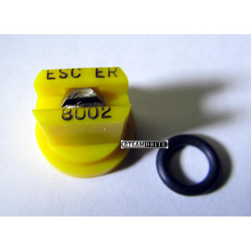 Production Metal Forming Plastic 8002 Jet with O-Ring H53-8002